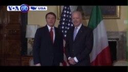 Phó Tổng thống Mỹ hội kiến Thủ tướng Ý (VOA60)
