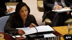 Đại sứ Hoa Kỳ tại Liên Hiệp Quốc, bà Susan Rice nói Đại Hội Đồng đã gửi đi một thông điệp rõ ràng cho nhân dân Syria