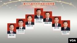 十九届中共中央政治局常委