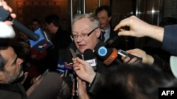 FILE - Russian Deputy Foreign Minister Sergei Ryabkov in New York, January 16, 2010.