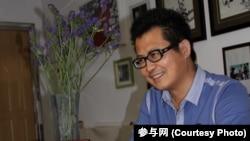 與廣東民主維權人士劉遠東同一看守所的中國知名維權人士郭飛雄(參與網照片)
