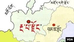 Ngaba map