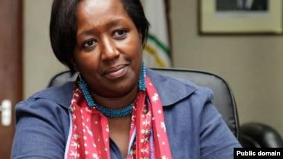 Dr. Agnes Binagwaho, pédiatre rwandaise, vice-chancelière de l'Université Global Health Equity, ancienne Ministre de la Santé.