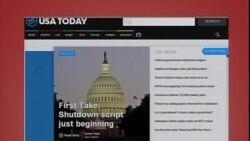 美国五大报头条新闻(2013年10月01日)