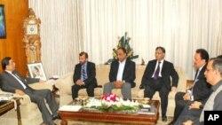ایم کیو ایم کے ارکان کی صدر زرداری سے ملاقات