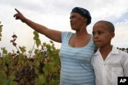 Sanna Winston leads her daughter, Francisca, home from school.... Doctors suspect Francisca has Fetal Alcohol Syndrome