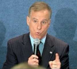 Former governor and Democratic presidential contender Howard Dean