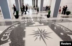 美国中央情报局总部的前厅(2008年)