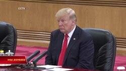 Mỹ 'thẳng thắn' về Biển Đông khi Trump đến TQ