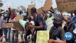 Polícia frustra manifestação de estudantes em Luanda