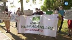 Birinci Yılını Dolduran Kazdağları Direnişine İzmir'den Destek