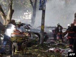 Ankara'daki Patlama Terör Saldırısı: Üç ölü, 34 yaralı