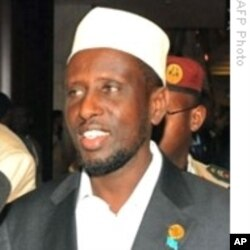 Somali President Sheik Sharif Sheik Ahmed's government is battling insurgents.