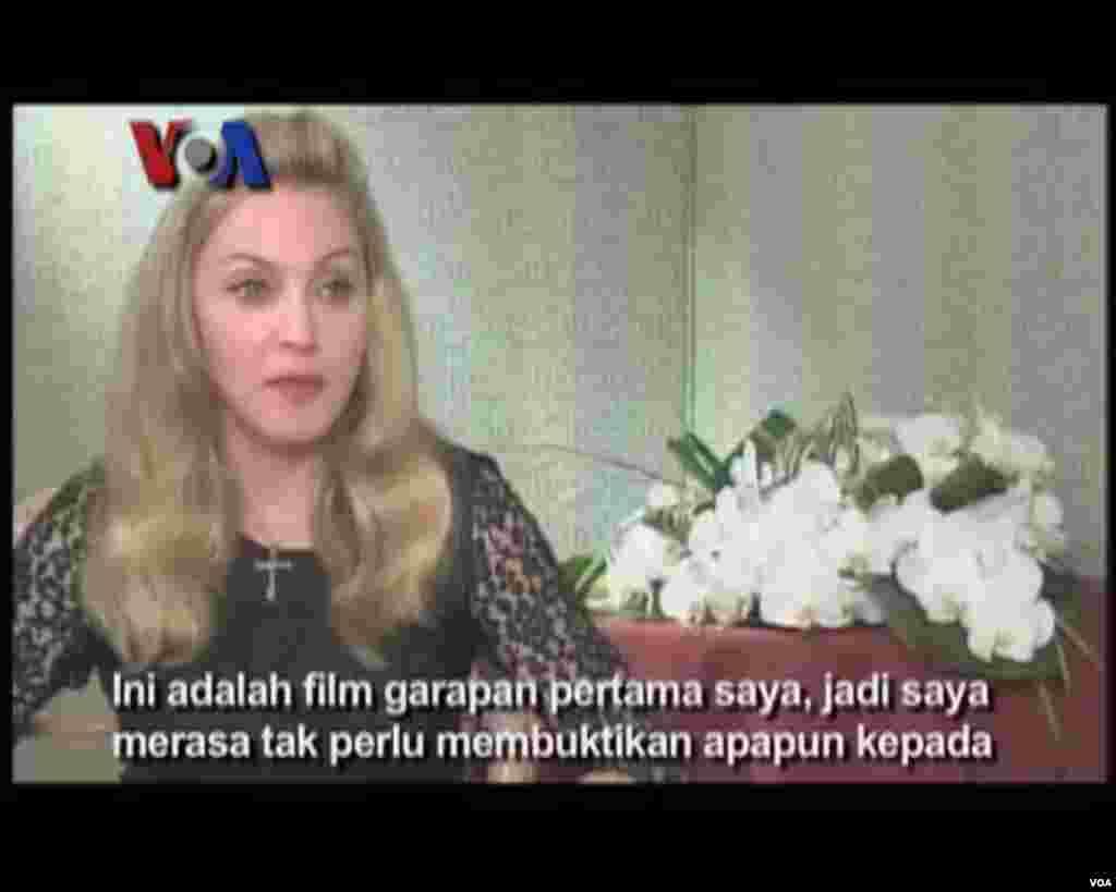 Karir Madonna Sebagai Sutradara - VOA Career Day