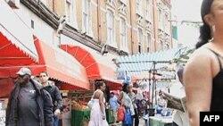 Khu vực sắc tộc như Brixton ở Nam London nơi những người gốc Caribê đến đây vào thập niên 1940