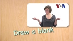 English in a Minute: Draw a Blank
