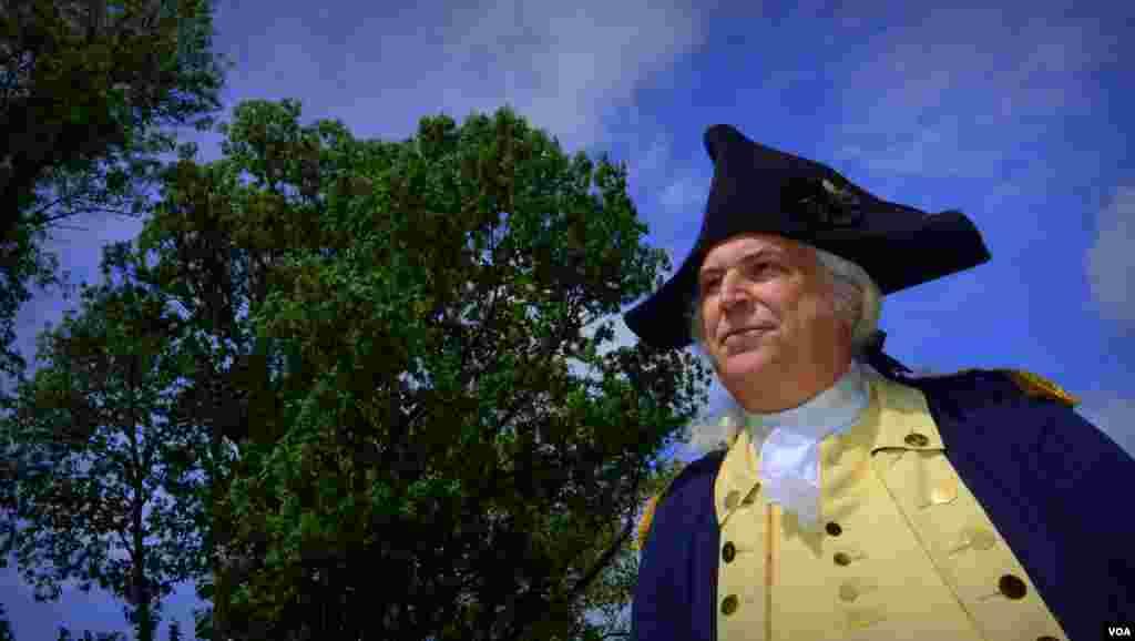 Командующий Континентальной армией генерал Джордж Вашингтон