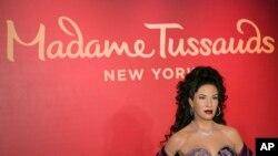 Figura de cera de Selena Quintanilla en el Museo Madame Tussauds. Junio 23, 2017, Nueva York. Foto AP.
