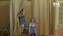 Вибори за кордоном: Як українці голосують у Вашингтоні. Відео