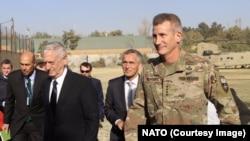Stoltenberg & Gen. Mattis in Afghanistan