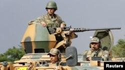 صدها سرباز ترکی در اطراف شهر موصل عراق مستقر شده است.