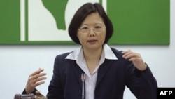 Tư liệu - Tổng thống Đài Loan Thái Anh Văn.