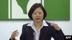 Bà Thái Anh Văn, Chủ tịch đảng Dân Tiến Ðài Loan