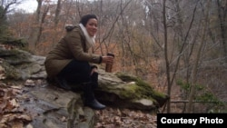 Pelukis asal Indonesia di Philadelphia, AS, Jeanny Kurniawati (dok: Jeanny Kurniawati)