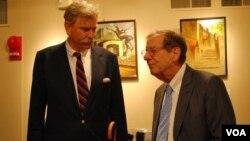 Meeting with US Ambassador Richard Morningstar at USACC