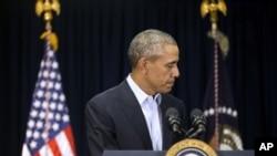 Presiden Obama mengatakan akan mencalonkan pengganti Hakim Agung Antonin Scalia 'sesua waktunya'.