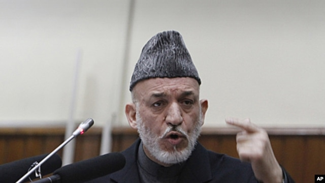 Afghan President Hamid Karzai (file photo).