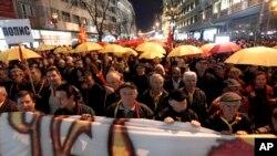 Македонці протестують проти другої державної мови - албанської