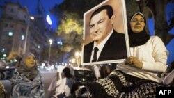Сторонники бывшего президента Мубарака