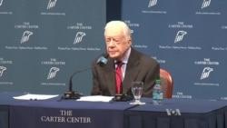 Former US President Jimmy Carter Fighting Cancer