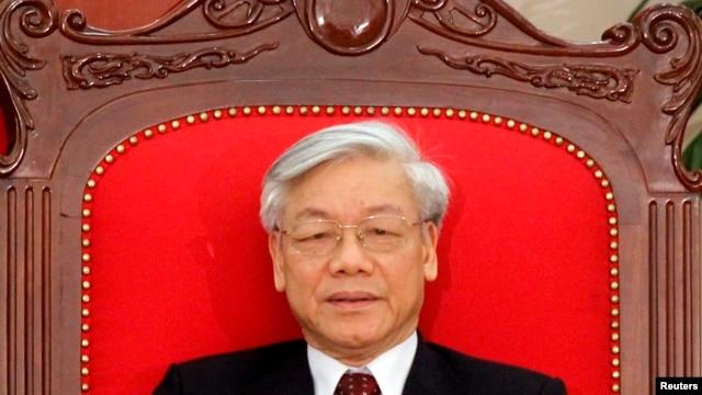 Tổng Bí thư Ðảng CSVN Nguyễn Phú Trọng.