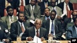 José Eduardo dos Santos no Conselho de Segurança da ONU