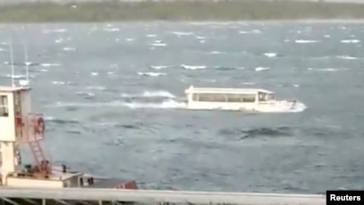 ntsb recordings show weather change before boat sank rh voanews com The Lake of Ozarks table rock lake branson weather