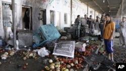 عراق: خودکش بم دھماکہ، 12 افراد ہلاک