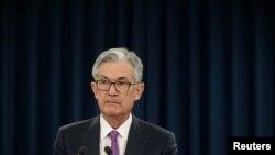 Archivo - Jerome Powell, Presidente de la Reserva Federal de Estados Unidos.