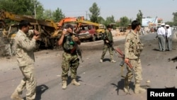 عکس آرشیف: شهر جلال آباد در گذشته نیز شاهد حملات مرگبار انتحاری بوده است
