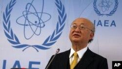 یوکیا آمانو مدیرکل آژانس بین المللی انرژی اتمی - آرشیو