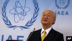 یوکیا آمانو نسبت به فعالیت های هسته ای کره شمالی شدیدا ابراز نگرانی کرده است.