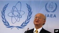 یوکیا آمانو، رئیس آژانس بین المللی انرژی اتمی