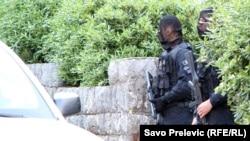 Policijska akcija u Kotoru (RFERL / Arhiv)