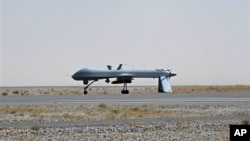 Máy bay không người lái Predator được trang bị tên lửa của Hoa Kỳ.