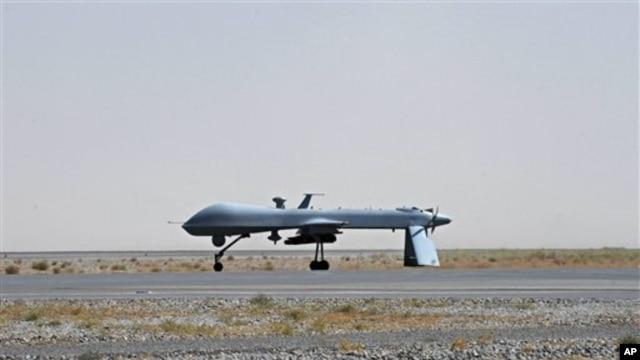 Sebuah pesawat tak berawak milik AS di Kandahar, Pakistan (Foto: dok). Sebuah laporan mengabarkan bahwa saat ini AS tengah bersiap mendirikan pangkalan pesawat tak berawak di Afrika Barat-Laut untuk meningkatkan pengintaian kelompok-kelompok ekstrimis Islamis.