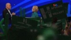Mucho ruido y furia en Cleveland, describe Hillary Clinton
