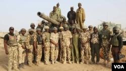 Wasu sojojin Najeriya da ke yaki da Boko Haram