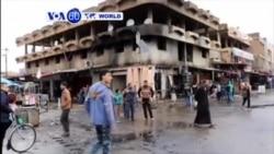 Bombe yahitanye abantu 8 ikomeretsa 50 i Tikrit muri Iraki