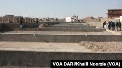 نخستین تصفیه خانۀ آب در ولایت هرات